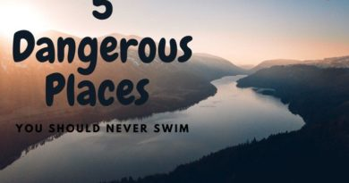 Featured image - 5 Places not to swim