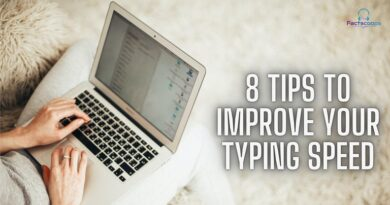 8 Practical Tips to improve typing speed