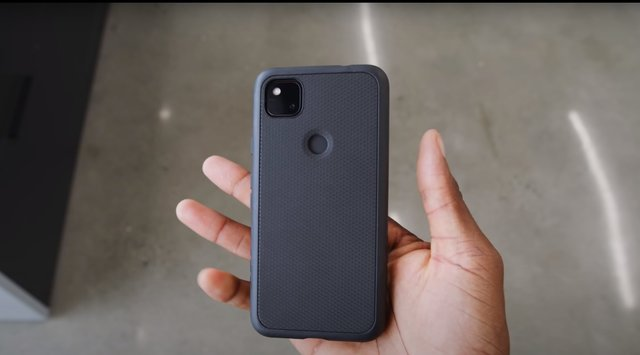 Google Pixel 4a with Cover