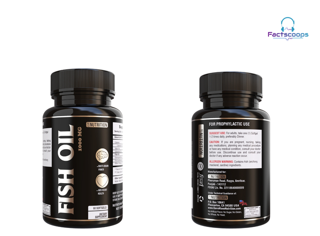 GM Nutrition Fish Oil Review