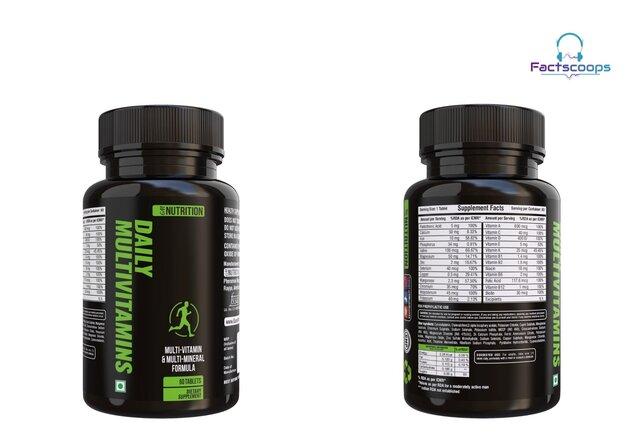 Gm Nutrition Multi Vitamins