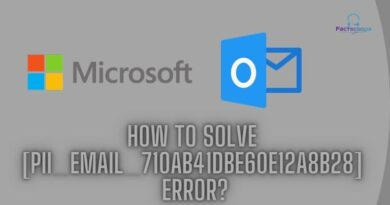 How to solve [pii_email_710ab41dbe60e12a8b28] error_