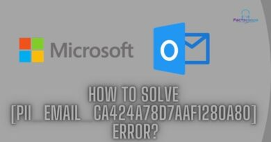 How to solve [pii_email_ca424a78d7aaf1280a80] error