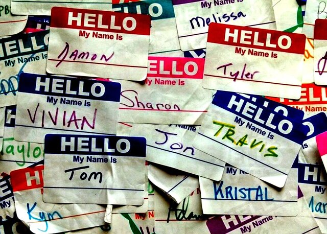 Call People By Their Name